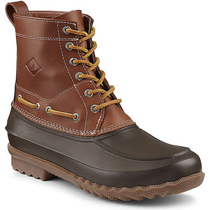 Men's Decoy Duck Boot in Tan and Brown by Sperry