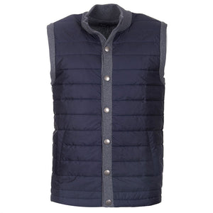 Essential Gilet in Mid Grey by Barbour  - 4