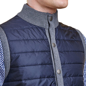 Essential Gilet in Mid Grey by Barbour  - 3