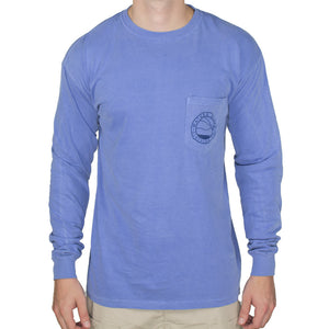 Fly Fisher Long Sleeve Tee Shirt in Flo Blue   - 2