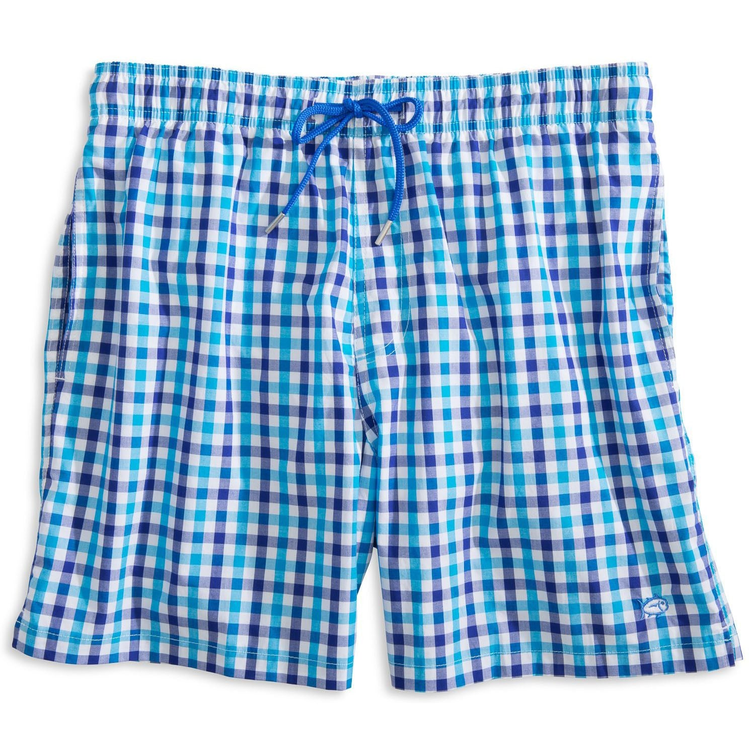 6734222acd Gingham Swim Trunks | Southern Tide - Tide and Peak Outfitters