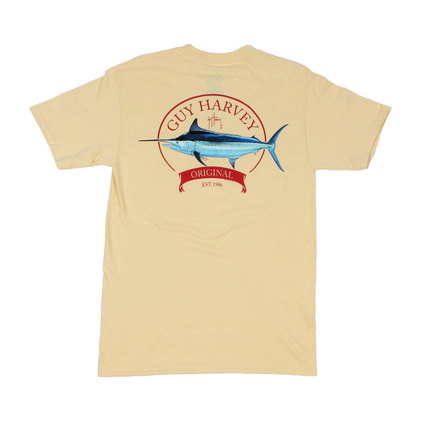 Guy Harvey Members Only Tee in Yellow