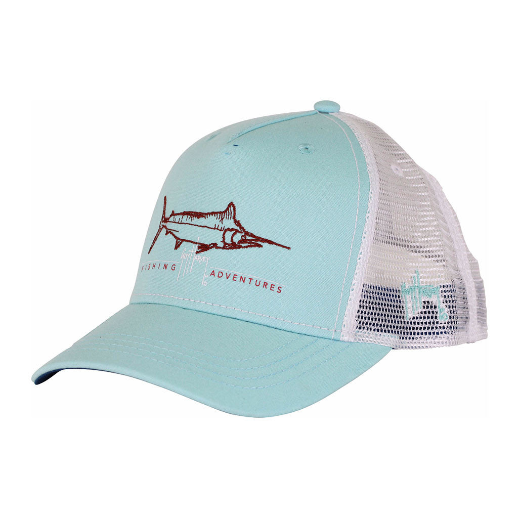 7f6ea25768d73 Guy Harvey Tight Line Hat in Mint