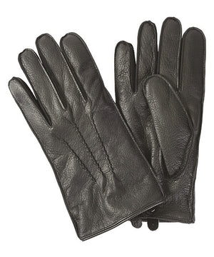 Harton Leather Gloves in Black