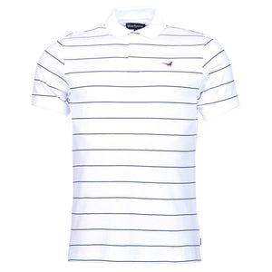 Lawrence Polo in White by Barbour  - 5