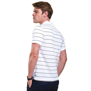 Lawrence Polo in White by Barbour  - 4