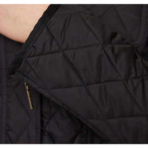 Morris Utility Quilted Jacket in Black