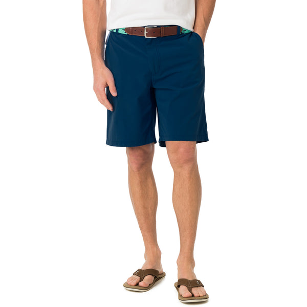 Tide to Trail Performance Shorts in Yacht Blue