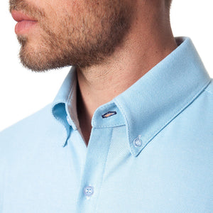 The Oxford Dress Shirt in Light Blue