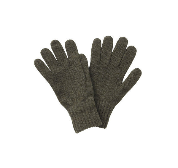 Lambswool Gloves in Black