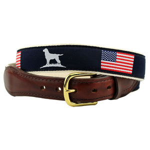 The Patriotic Ribbon Belt