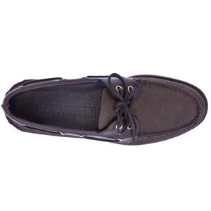 Men's A/O Boat Shoe in Buc Brown 2