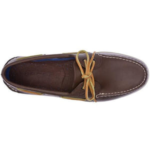 Men's A/O Boat Shoe in Classic Brown 2