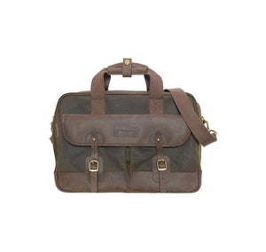 Mizzen Briefcase in Olive Green