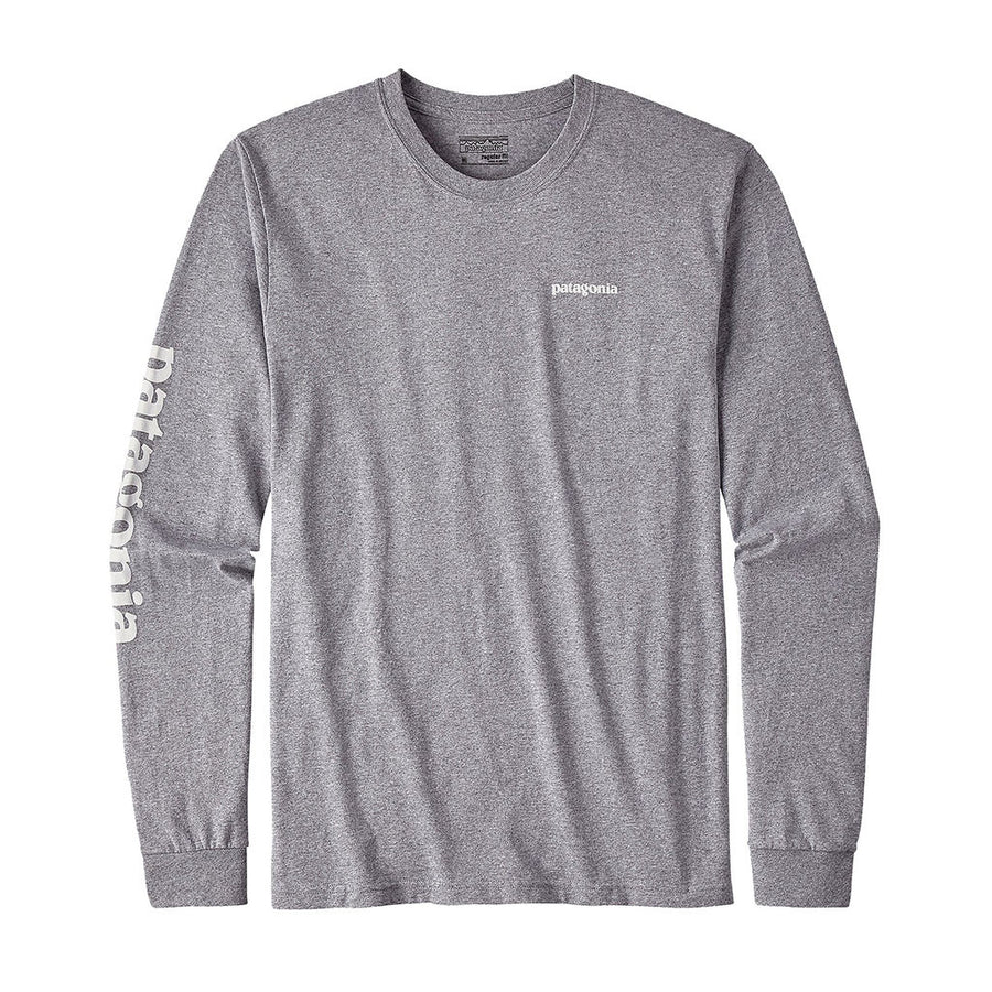 Men's Long Sleeved Text Logo Responsibili-Tee™ - FINAL SALE