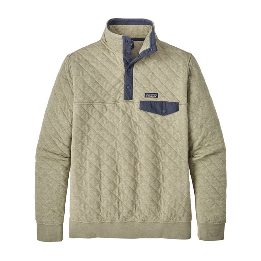 Men's Cotton Quilt Snap-T® Pullover