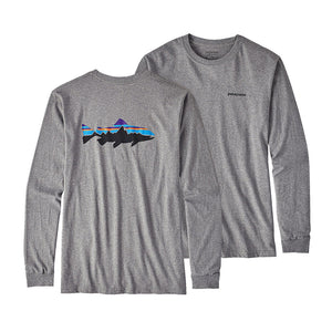 Men's Long Sleeved Fit Roy Trout T-Shirt - FINAL SALE