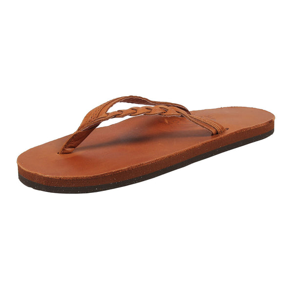Women's Flirty Braidy Leather Sandal