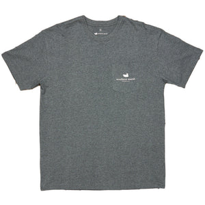The South River Route Tee in Midnight Grey by Southern Marsh  - 3