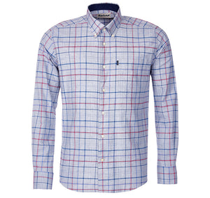 Ronald Tailored Fit Button Down in Grey Marl