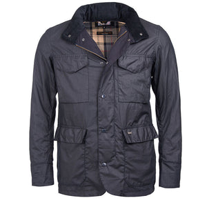 Sapper Tailored Wax Jacket in Navy by Barbour  - 5