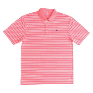 Savannah Performance Polo in Salmon Rose  The   - 1