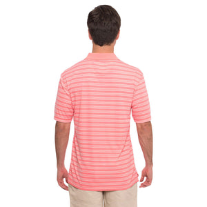 Savannah Performance Polo in Salmon Rose  The   - 3