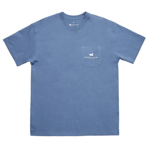 River Route Collection - Alabama & Georgia Tee in Bluestone by Southern Marsh  - 3