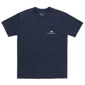 River Route Collection - North Carolina & South Carolina Tee in Navy by Southern Marsh  - 3