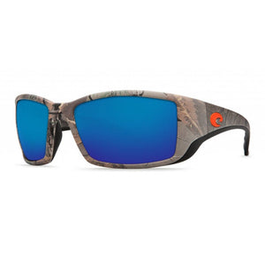 Blackfin Realtree XTRA Camo Sunglasses with Blue Mirror 580P Lenses