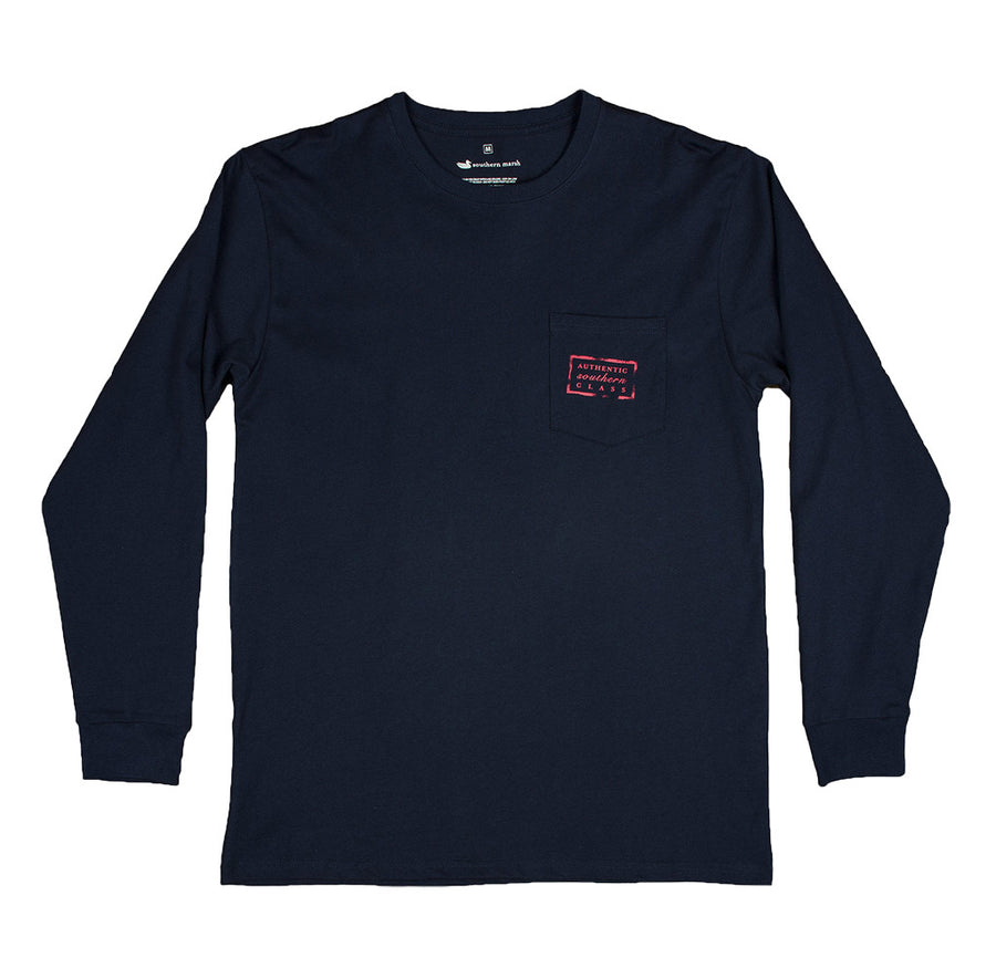Authentic Flag Long Sleeve Tee