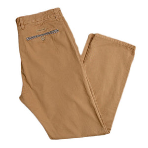 The Seawash Grayton Twill Pant in Khaki by Southern Marsh  - 3