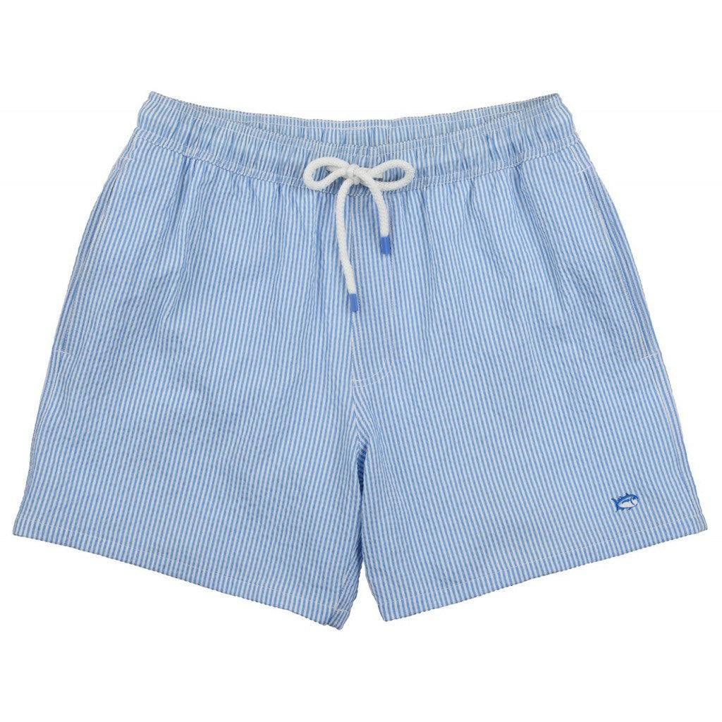 08186cc3c9 Seersucker Swim Trunks | Southern Tide - Tide and Peak Outfitters