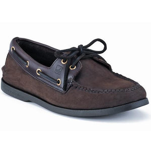 Men's A/O Boat Shoe in Buc Brown 1