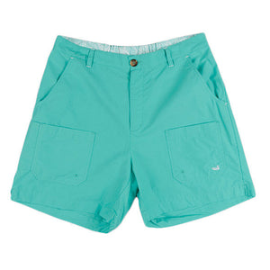 The Tarpon Flats Fishing Short in Antigua Blue by Southern Marsh  - 1