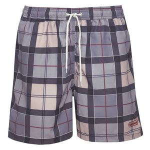 Lomond Swimming Shorts in Dress Tartan by Barbour  - 1