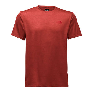 The North Face Men's Hyperlayer FD Short Sleeve Crew in High Risk Red Heather