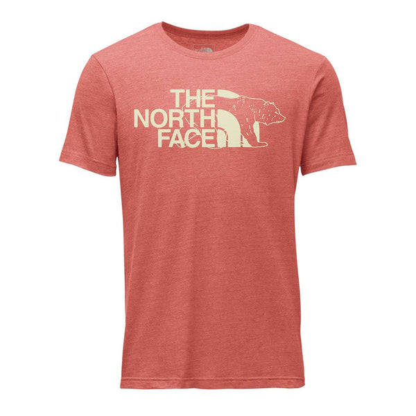 b4fc596d84a5f The North Face Men's TNF™ Mascot Tri-Blend Tee in Bossa Nova Red Heather