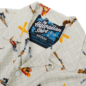 The Sharpshooter Hawaiian Shirt in Light Brown