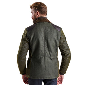 Traveller Wax Jacket in Olive