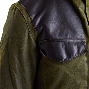 Land Rover Traveller Wax Jacket in Olive