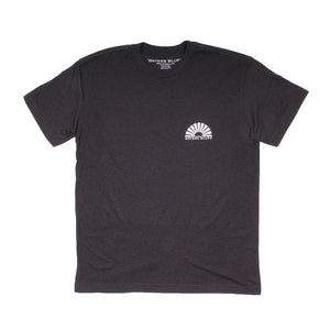 Waters Bluff Paddler Tee in Charcoal