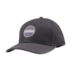 Waters Blulff Simple Patch Twill Hat in Black