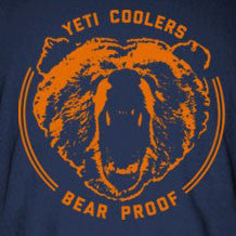 Bear Proof Tee Shirt in Navy