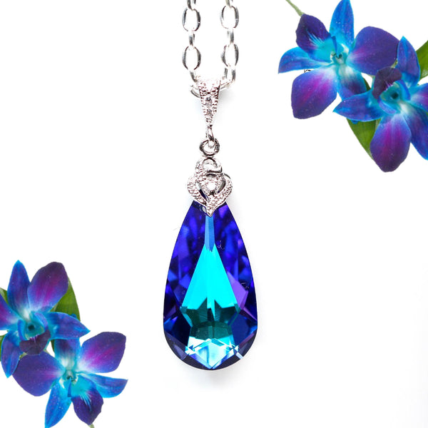 Swarovski Heliotrope Necklace HE-33