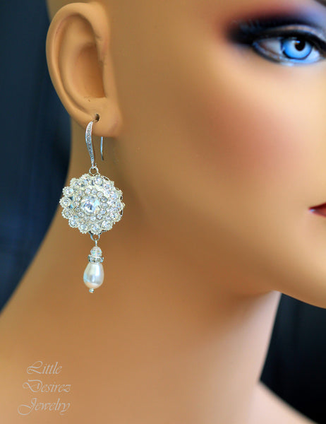 Crystal Bridal Earrings CELINA