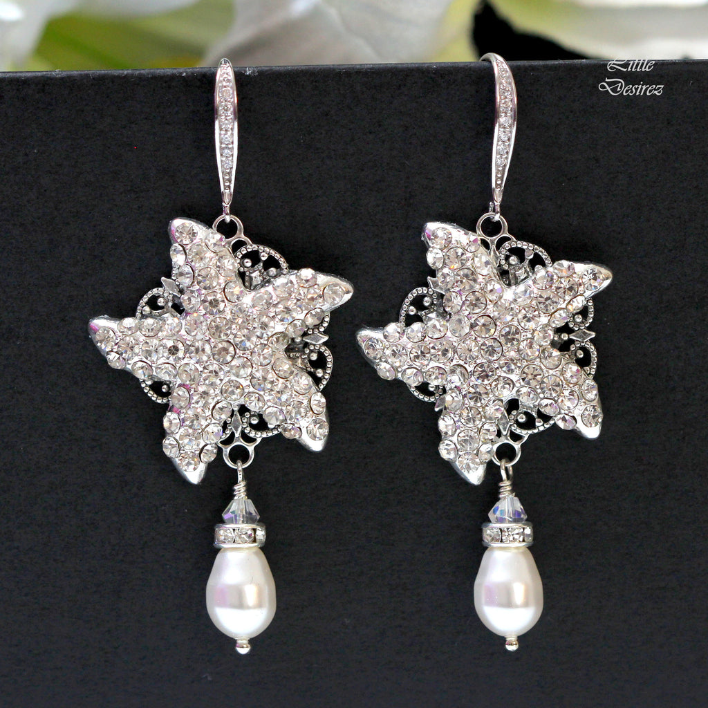 Bridal Starfish Earrings KAI