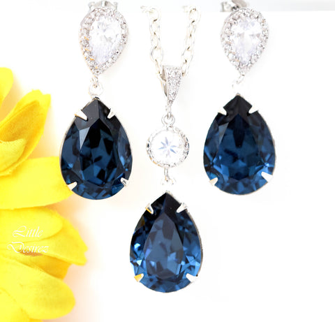 Blue Jewelry Set MO-31-JS