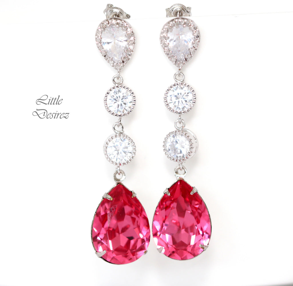 Crystal Chandelier Earrings RP-31