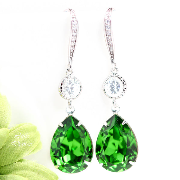 Swarovski Crystal Earrings FG-31